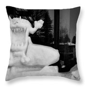 Taz Throw Pillow