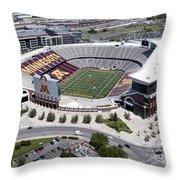 Tcf Bank Stadium Throw Pillow