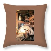 The Heart Of A Windmill The Nederlands Throw Pillow