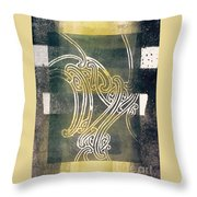 Te Ikaroa Throw Pillow