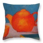 Tea? Throw Pillow