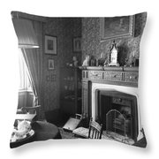 Tea By The Fire Throw Pillow