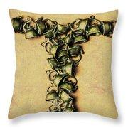 Tea Pot Art Throw Pillow