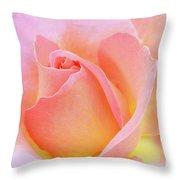 Tea Rose-elle  Throw Pillow