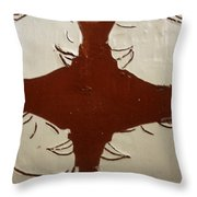 Tea Time - Tile Throw Pillow