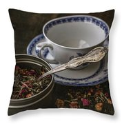 Tea Time 8529 Throw Pillow