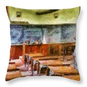 Teacher - Pay Attention In Class Throw Pillow by Mike Savad
