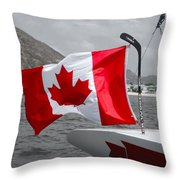 Team Canada Throw Pillow