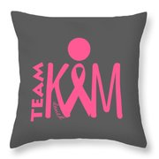 Team Kim Throw Pillow