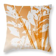 Team Orange Throw Pillow
