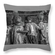 Team Support Throw Pillow