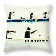 Teamwork Nbr2 Throw Pillow