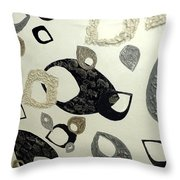 Tear Drop Throw Pillow