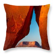 Teardrop Arch Throw Pillow
