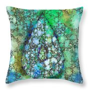 Tears Of Growth Throw Pillow