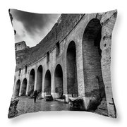 Tears Of Rain At Coliseum Throw Pillow