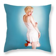 Tease Throw Pillow