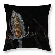 Teasel Glow Throw Pillow