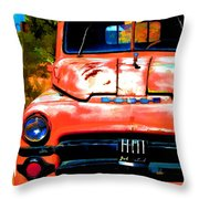 Techatticup Mine Ghost Town Nv Throw Pillow