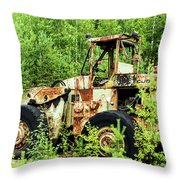Technical Waste Throw Pillow
