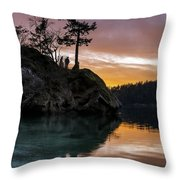 Teddy Bear Cove Throw Pillow