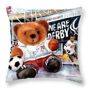 Teddy Bear Ince Throw Pillow