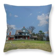 Teddy Roosevelts House - Sagamore Hill Throw Pillow