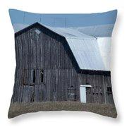 Tee Barn Throw Pillow