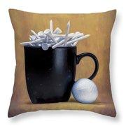 Teecup Throw Pillow