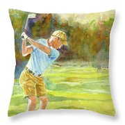 Tee Time Throw Pillow
