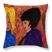 Teen Years Throw Pillow