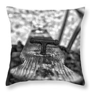 Teeter Totter Throw Pillow by Bitter Buffalo Photography