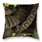 Teeth Throw Pillow
