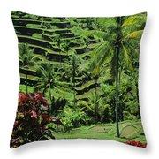 Tegalalang, Bali Throw Pillow