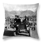 Tehran Conference, 1943 Throw Pillow