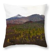 Teide Nr 12 Throw Pillow