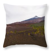 Teide Nr 13 Throw Pillow