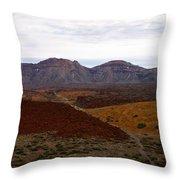 Teide Nr 2 Throw Pillow