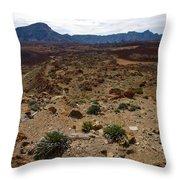 Teide Nr 4 Throw Pillow