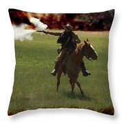 Tejano Cavalry Throw Pillow