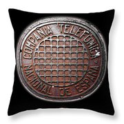 Telefonica Throw Pillow