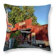 Telegraph Store Throw Pillow