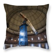 Telescope At Yerkes Throw Pillow