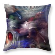 Televisia Throw Pillow