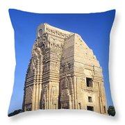 Teli Ka Mandir Temple Throw Pillow
