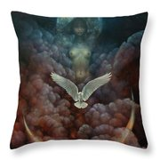 Tell Her You Saw Me Throw Pillow