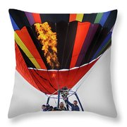 Temecula, Ca - Flames Over Wine Country Throw Pillow