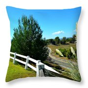 Temecula Scenery Throw Pillow