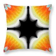 Fractal 7 2x3 Throw Pillow