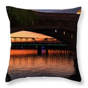 Tempe Bridges Throw Pillow